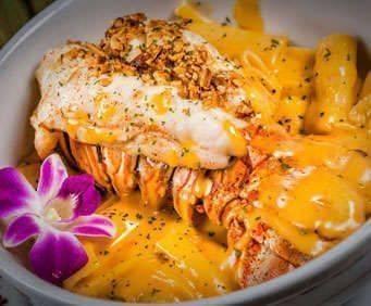 Mai-Kai Polynesian Dinner Show, meal