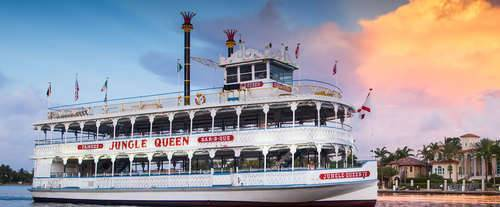 Jungle Queen Riverboat Fort Lauderdale Sightseeing & Dinner Cruises