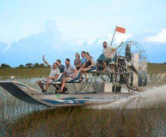 Sawgrass Recreation Park Everglades Airboat Tour, airboat