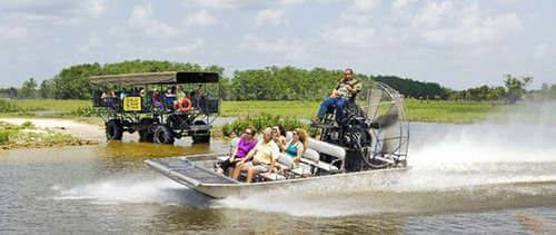 Billie Swamp Safari Buggy Tour, Airboat Ride And Reptile Show