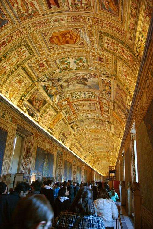 Map gallery, Vatican Museums
