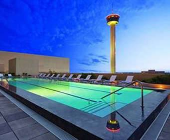 Outdoor Swimming Pool of Grand Hyatt San Antonio