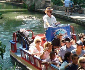 Rio San Antonio River Walk Cruises, rafting tour