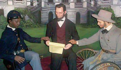 Tussaud's Wax Museum, Abraham Lincoln