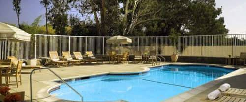 Outdoor Pool at River Terrace Inn