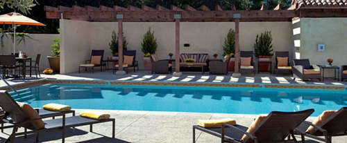 Outdoor Swimming Pool of North Block Hotel