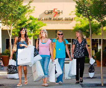 Folsom Premium Outlets Package, shopping