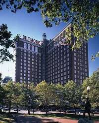 Exterior of Providence Biltmore Hotel