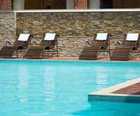 Outdoor Swimming Pool of Providence Marriott Downtown