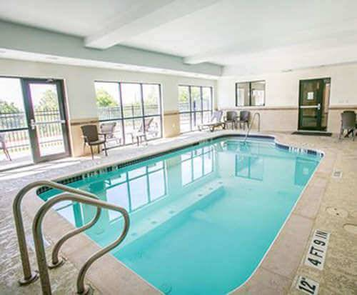 Sleep Inn & Suites Austin Indoor Pool