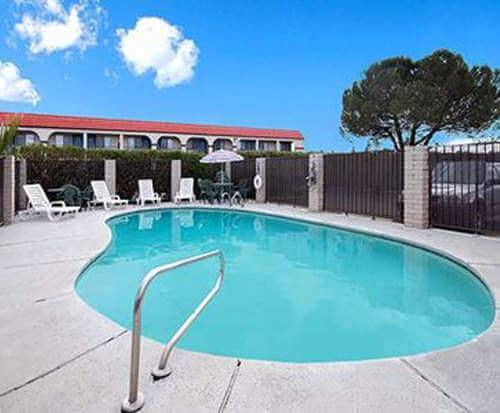 Outdoor Pool at Quality Inn Redding