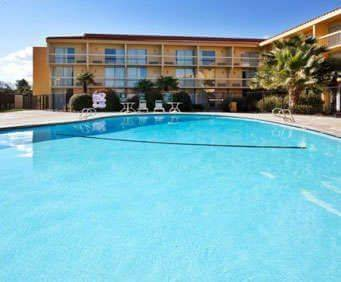 Outdoor Pool at La Quinta Inn & Suites Redding