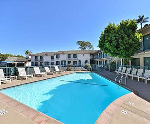 Outdoor Pool at Quality Inn Santa Barbara
