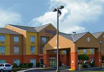 Exterior of Fairfield Inn By Marriott Vicksburg