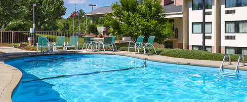 Outdoor Pool at Ramada At River Ridge