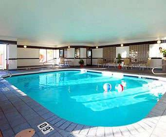 Comfort Suites Old Town Indoor Pool