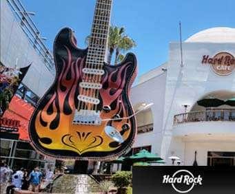 Hard Rock Café Huge Guitar