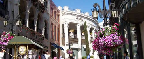 Movie Stars' Homes & 1/2 day Shopping Tour, sites