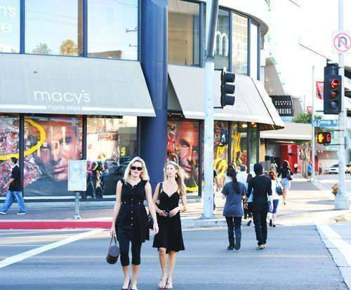 Movie Stars' Homes & 1/2 day Shopping Tour, shopping