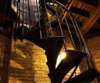 Casa Loma, spiral staircase