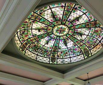 Casa Loma, stained glass dome