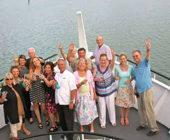 Starlite Majesty Cruise, Guests on Ship Deck