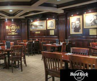 Hard Rock Café Seating