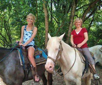1 Hour Smoky Mountains Horseback Ride, outdoor