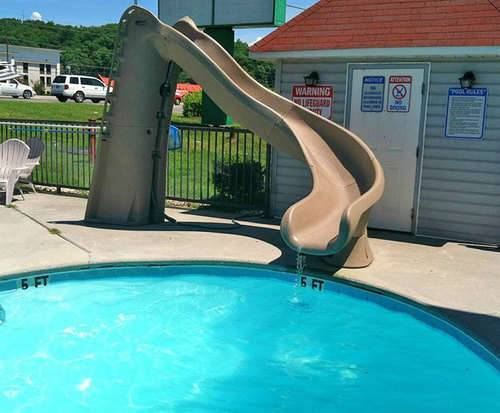 Outdoor Pool at Econo Lodge Sevierville