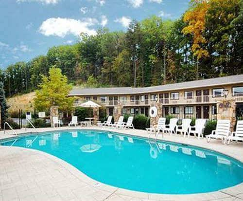 Outdoor Pool at Quality Inn Interstate