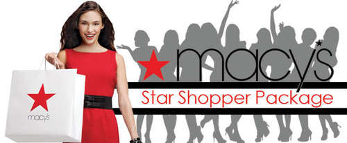Macy's Star Shopper (Macy's Houston Galleria), shopping spree