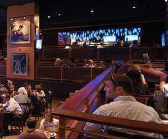 Hard Rock Café People Eating