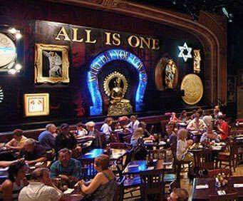 Hard Rock Café People Sitting