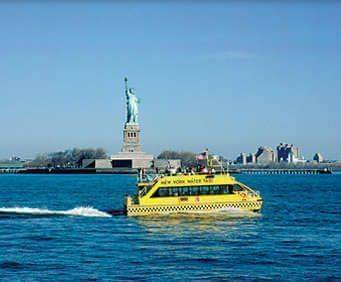 New York Water Taxi's Statue of Liberty Express, statue of liberty