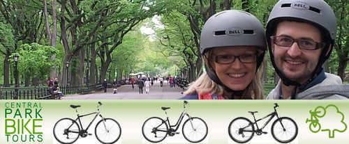 Central Park Bike Tour Logo