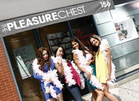 On Location Tours Featuring Sex and the City Hotspots, The pleasure chest