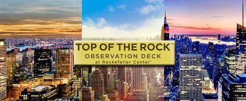 Top of the Rock Observation Deck, Rockefeller center