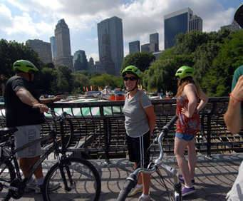 Central Park Movie Scenes Guided Bike Tour, bike