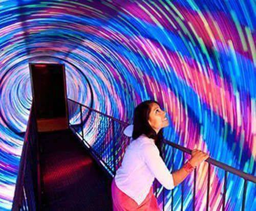 Spinning tunnel
