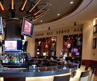 Hard Rock Cafe Yankee Stadium, interior