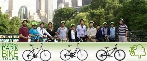Arts & Architectural Central Park Bike Tour, Central park bike tour