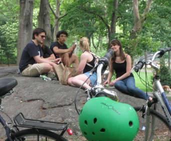 Central Park Bike Rentals, bike rental