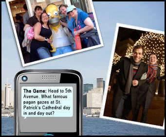 Interactive New York Walking Tours, app