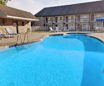 Outdoor Pool at Best Western Revere Inn & Suites