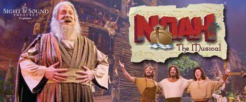 Noah The Musical at Sight & Sound Millennium Theatre Lancaster, PA