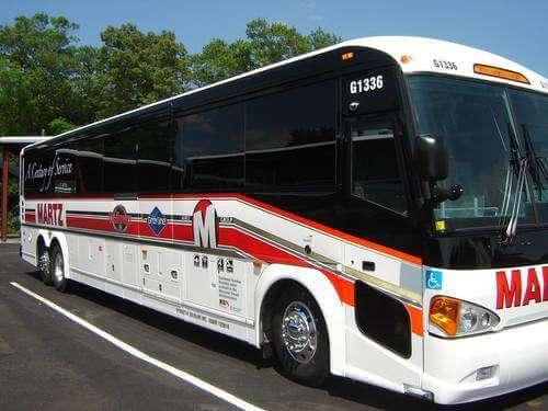 Mount Vernon and Old Town Alexandria Tour, tour bus