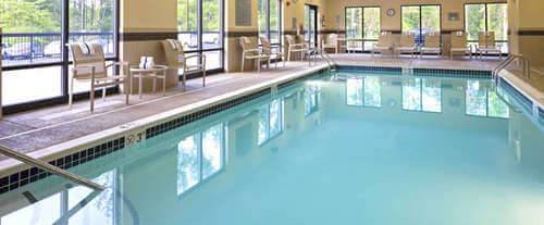 Hampton Inn & Suites Mt. Vernon / Belvoir - Alexandria South Area Indoor Pool