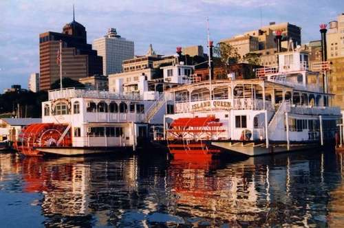 Memphis Riverboats Sightseeing & Dinner Cruises - Boat & Sky Line