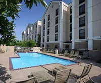 Outdoor Swimming Pool of Hampton Inn & Suites Memphis-Wolfchase Galleria