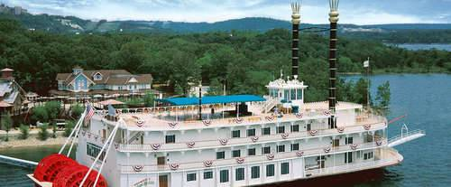 Showboat Branson Belle Lunch & Dinner Cruises, river boat